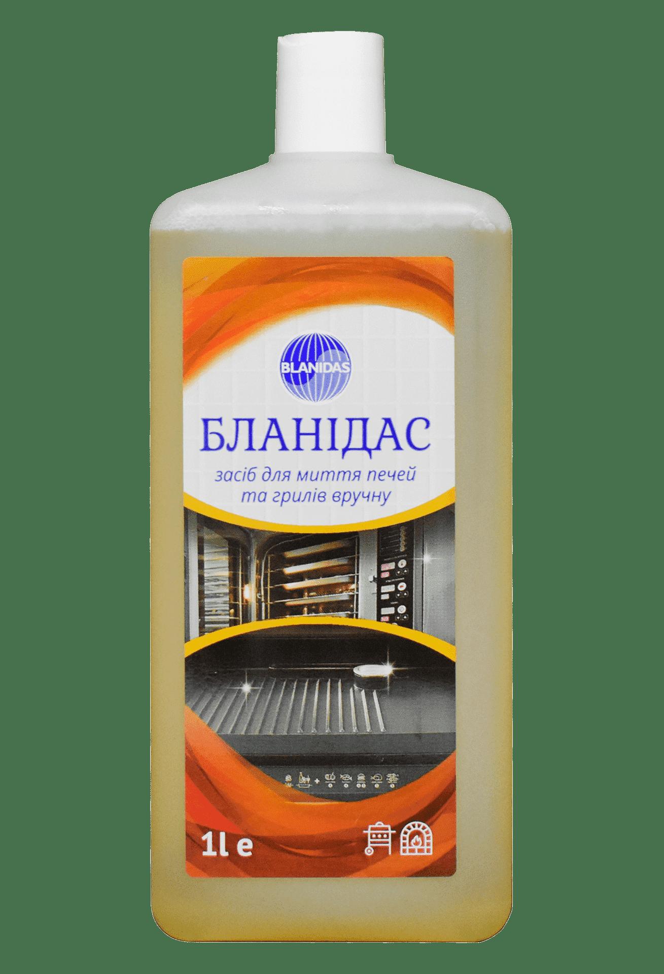 Бланідас- засіб для миття печей та грилів вручну, 1л
