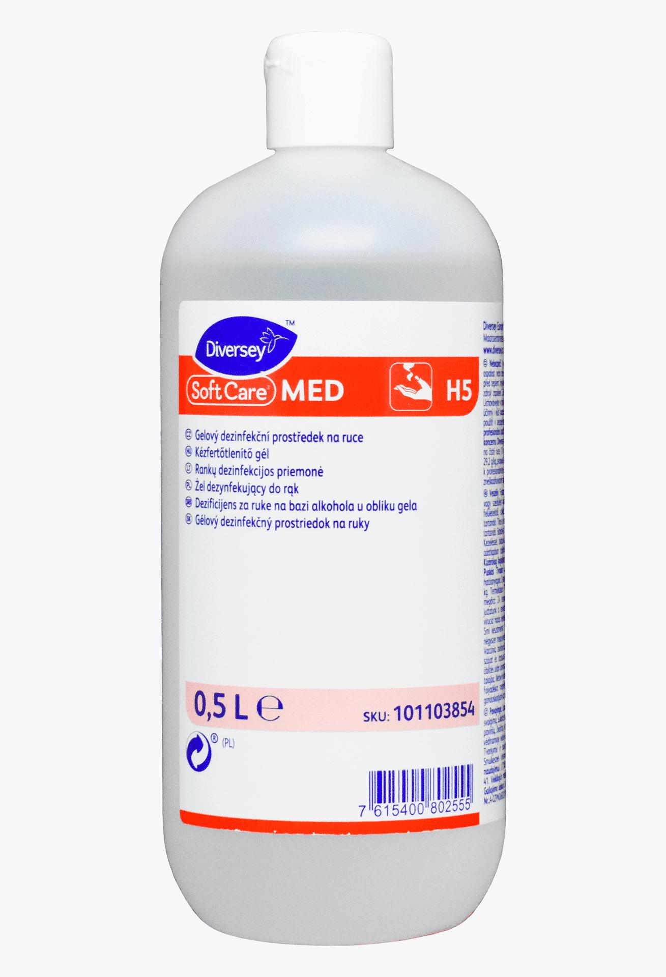 Soft Care Med – засіб для дезінфекції рук, 500мл