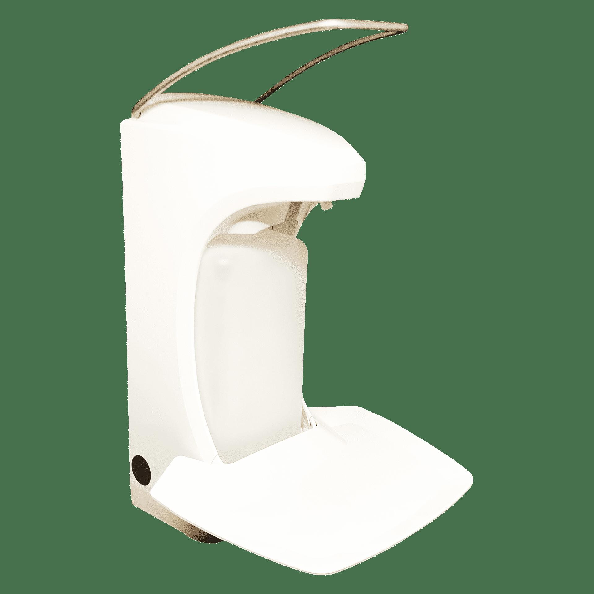 Диспенсер RX 5 M с лотком для капель и замком, білий