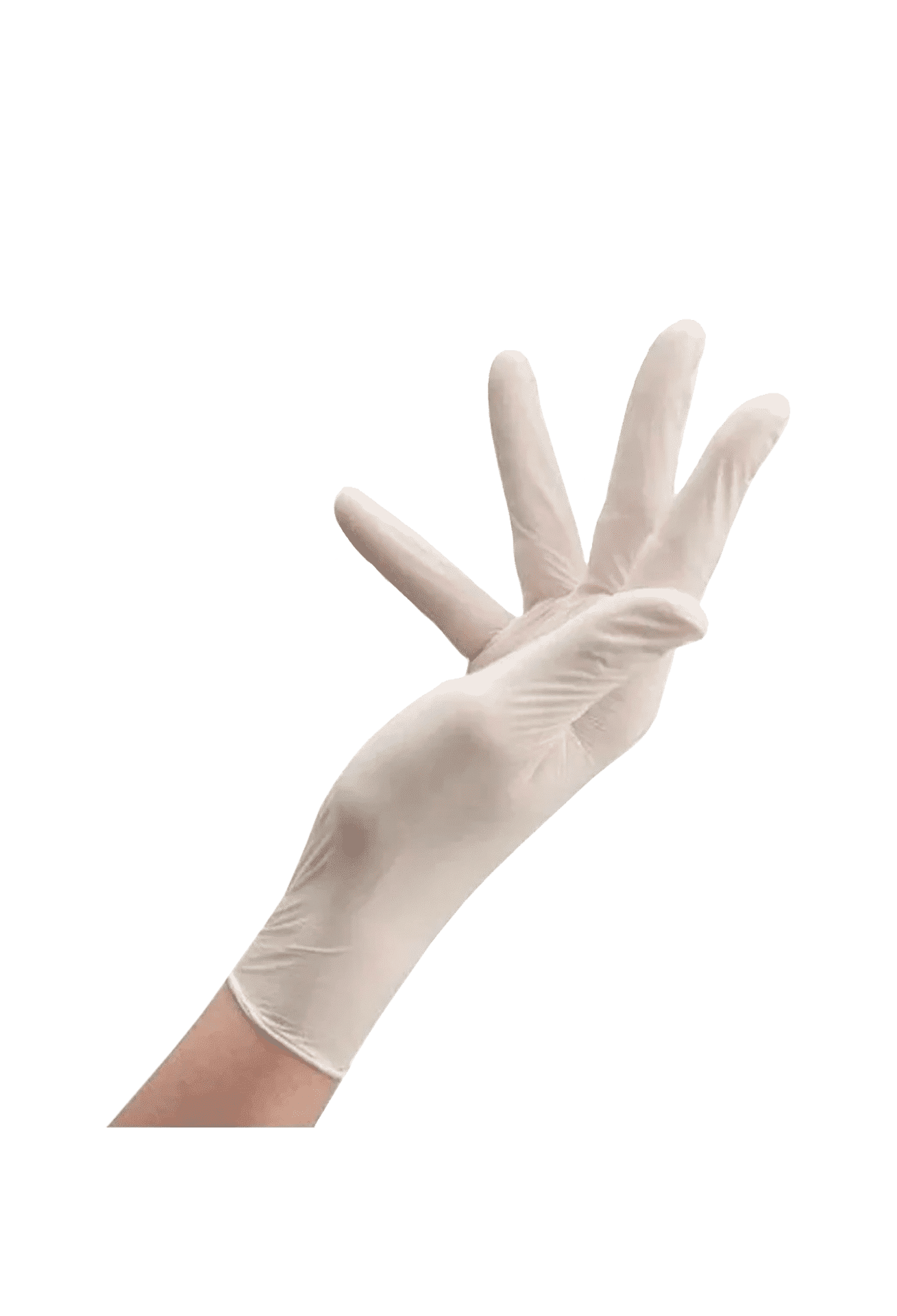 Рукавички латексні опудрені Care 365, M (100шт.)