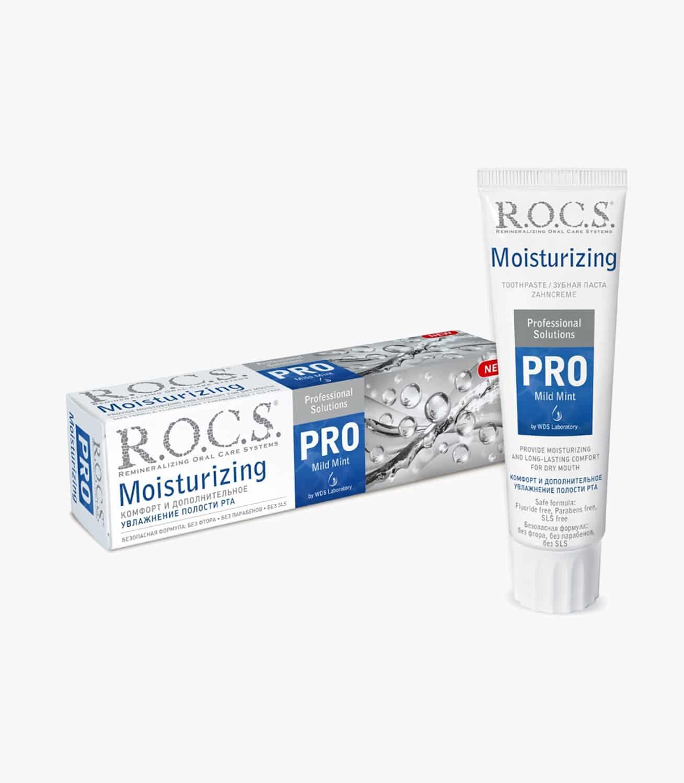 "Зубна паста ""R.O.C.S. PRO Moisturizing. Зволожуюча"", 135гр"