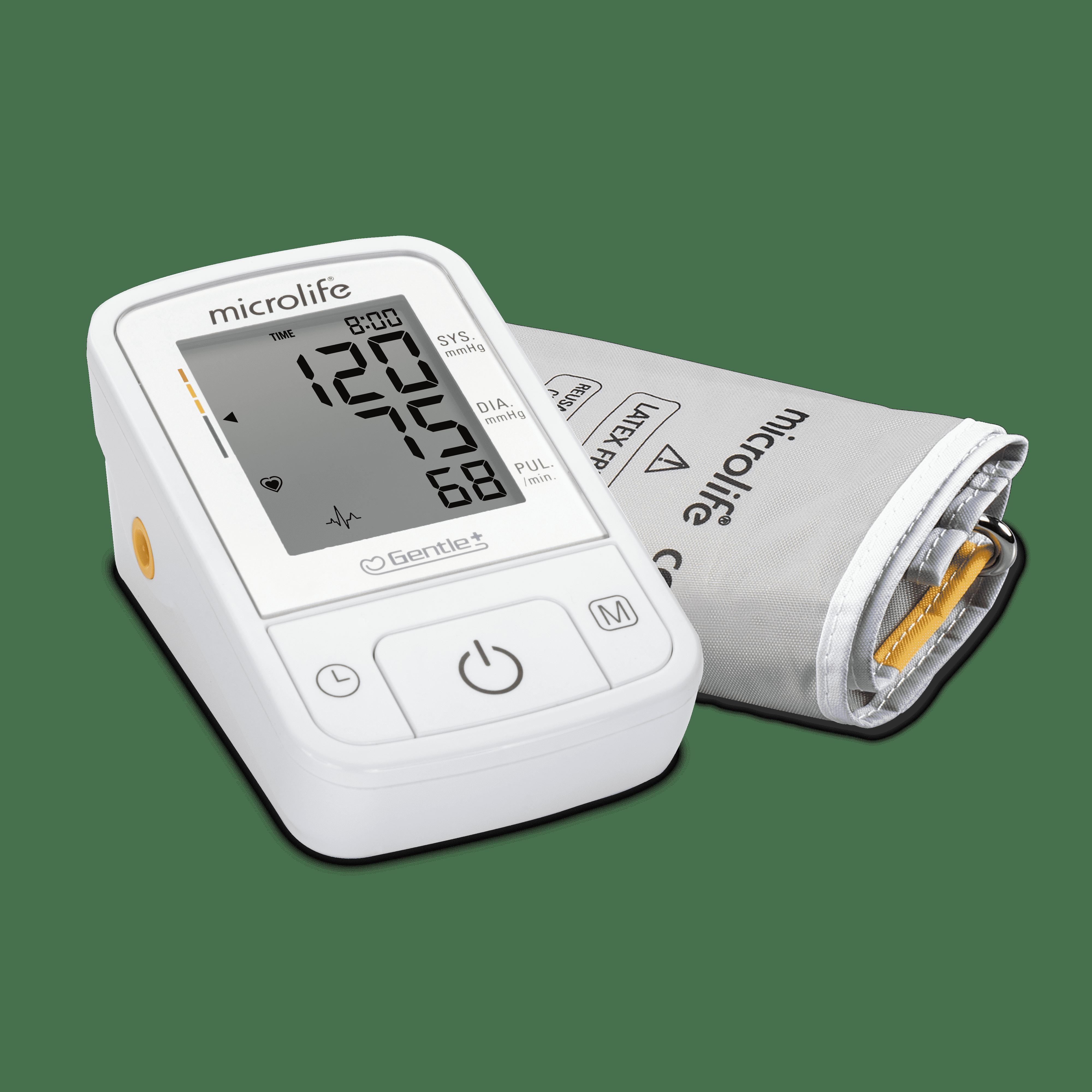 Автоматичний цифровий вимірювач артеріального тиску Microlife BP A2 Basic з адаптером