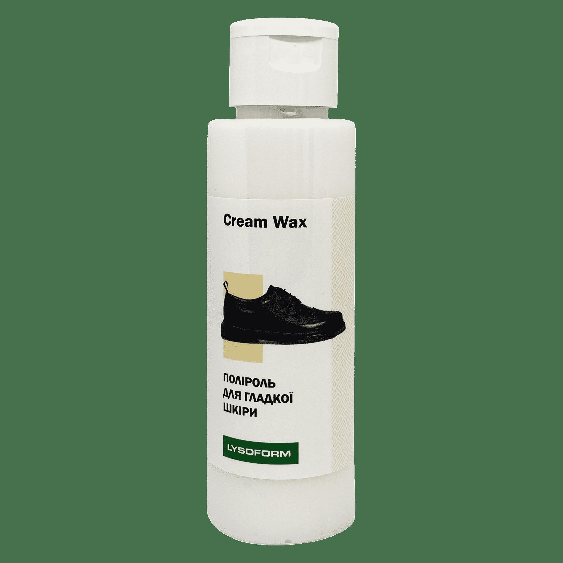 Поліроль для гладкої шкіри Cream Wax, 100мл