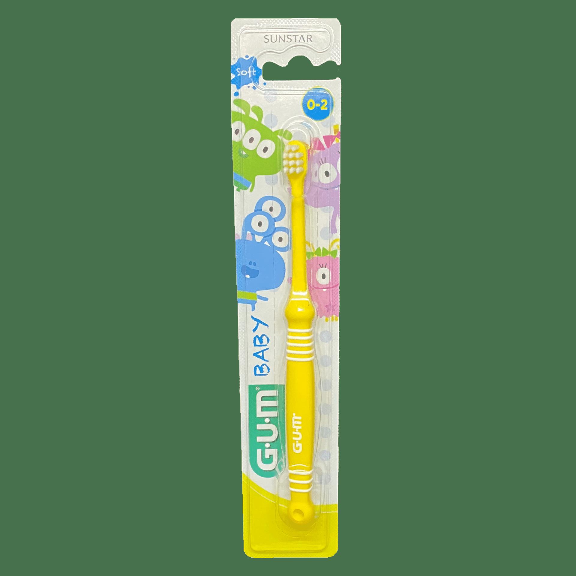 Зубна щітка GUM BABY MONSTER