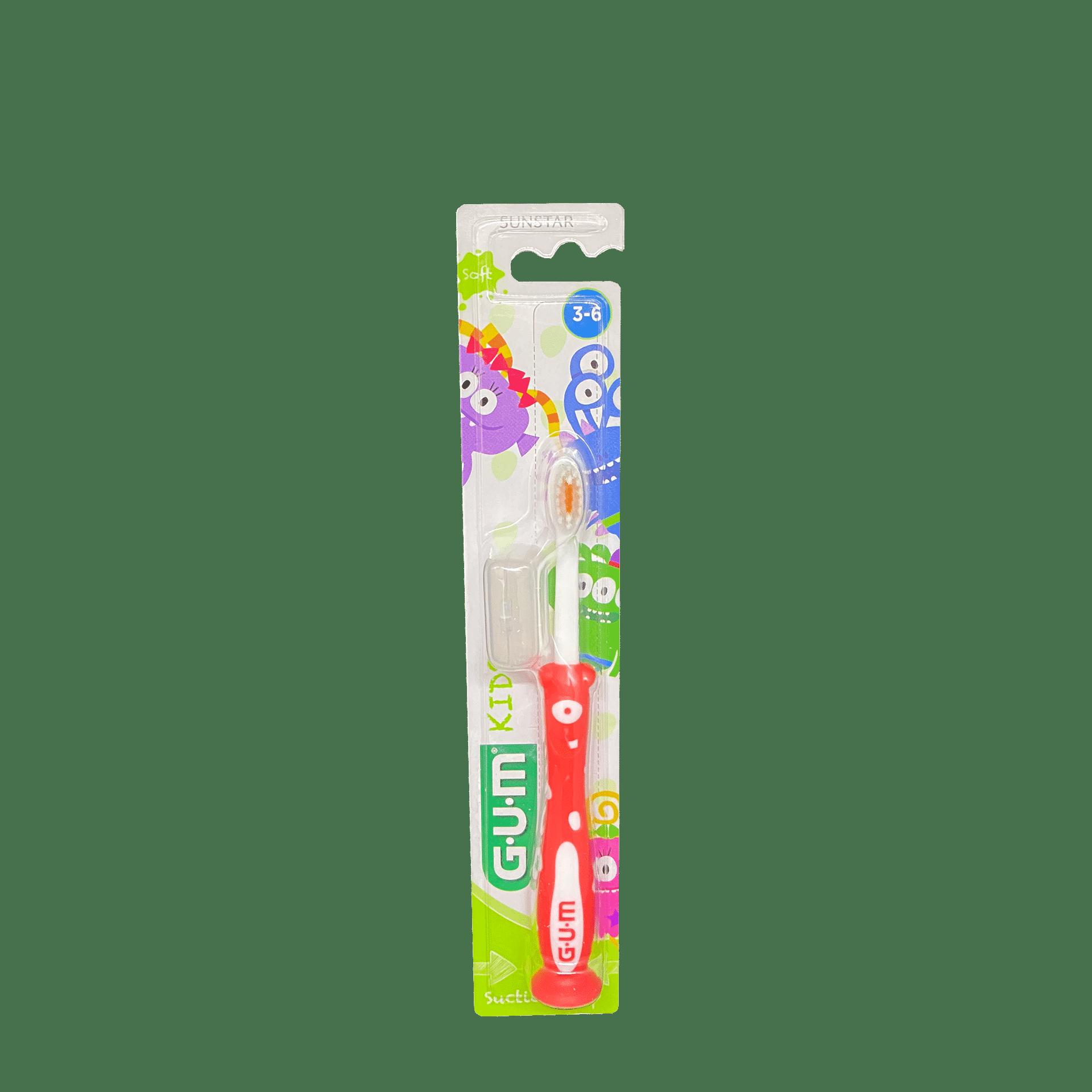 Зубна щітка GUM KIDS MONSTER