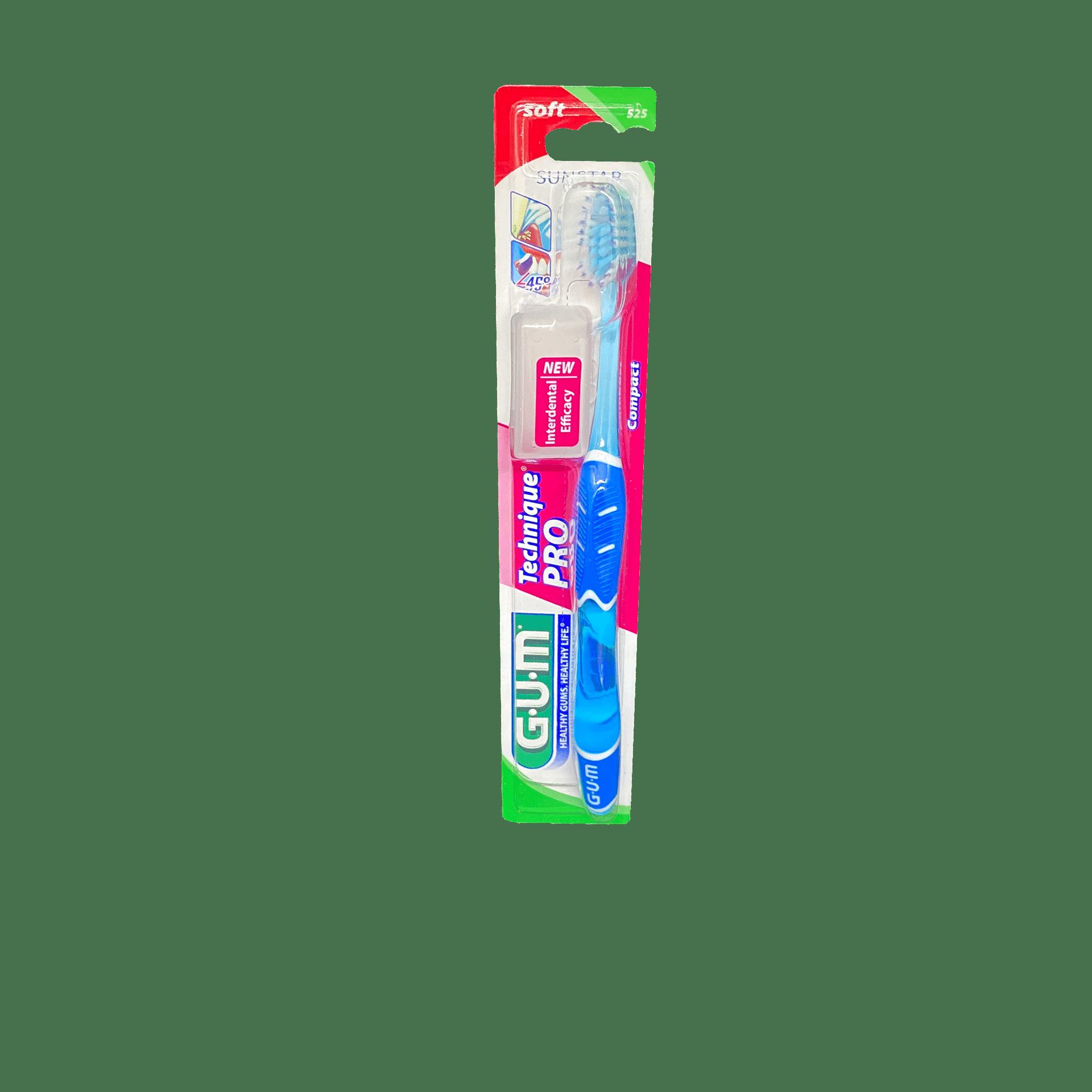 Зубна щітка GUM Technique PRO COMPACT SOFT, м'яка