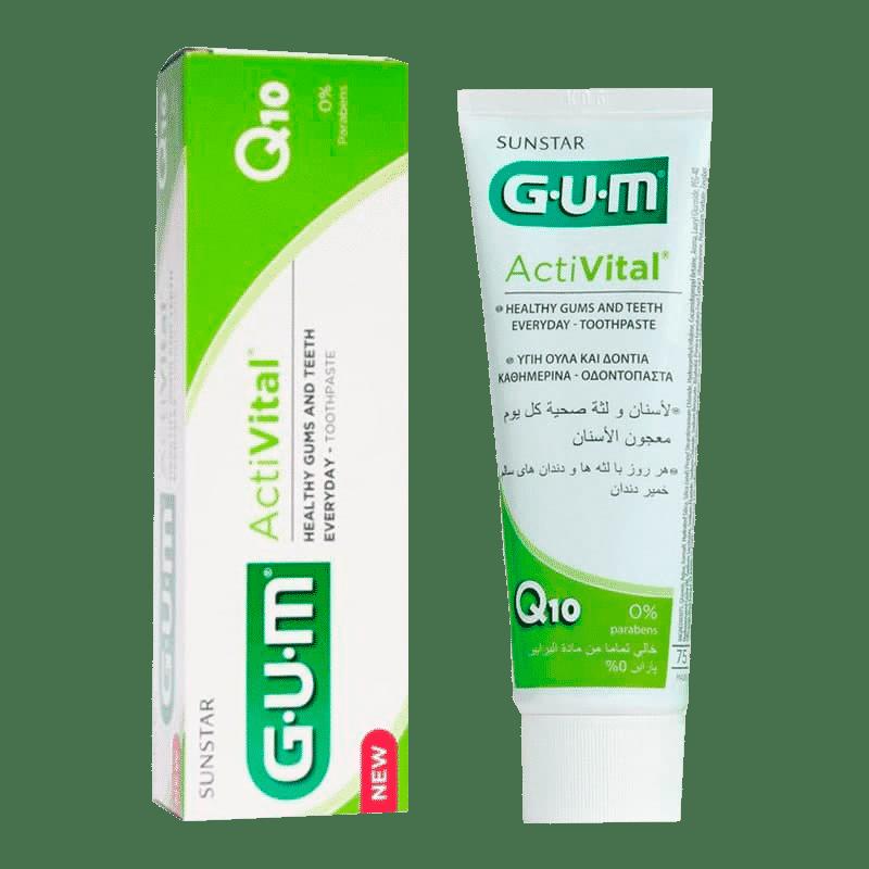 Зубна паста-гель GUM ACTIVITAL, 75мл