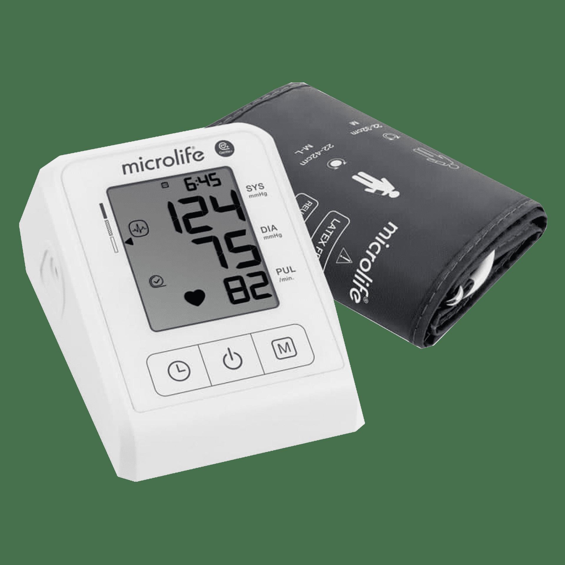 Автоматичний цифровий вимірювач артеріального тиску Microlife BP B1 Classic