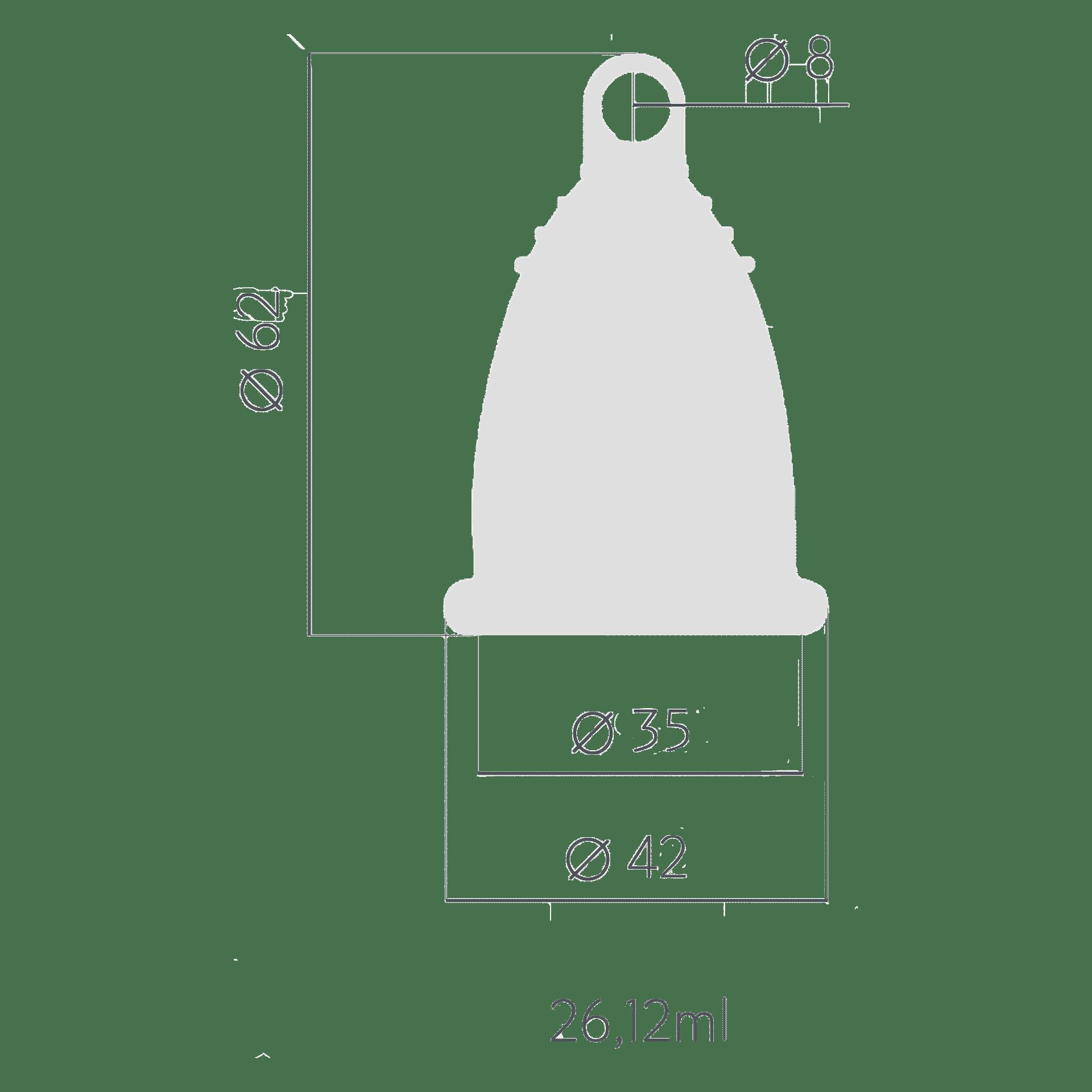 Менструальна чаша t.o.c. Розмір M