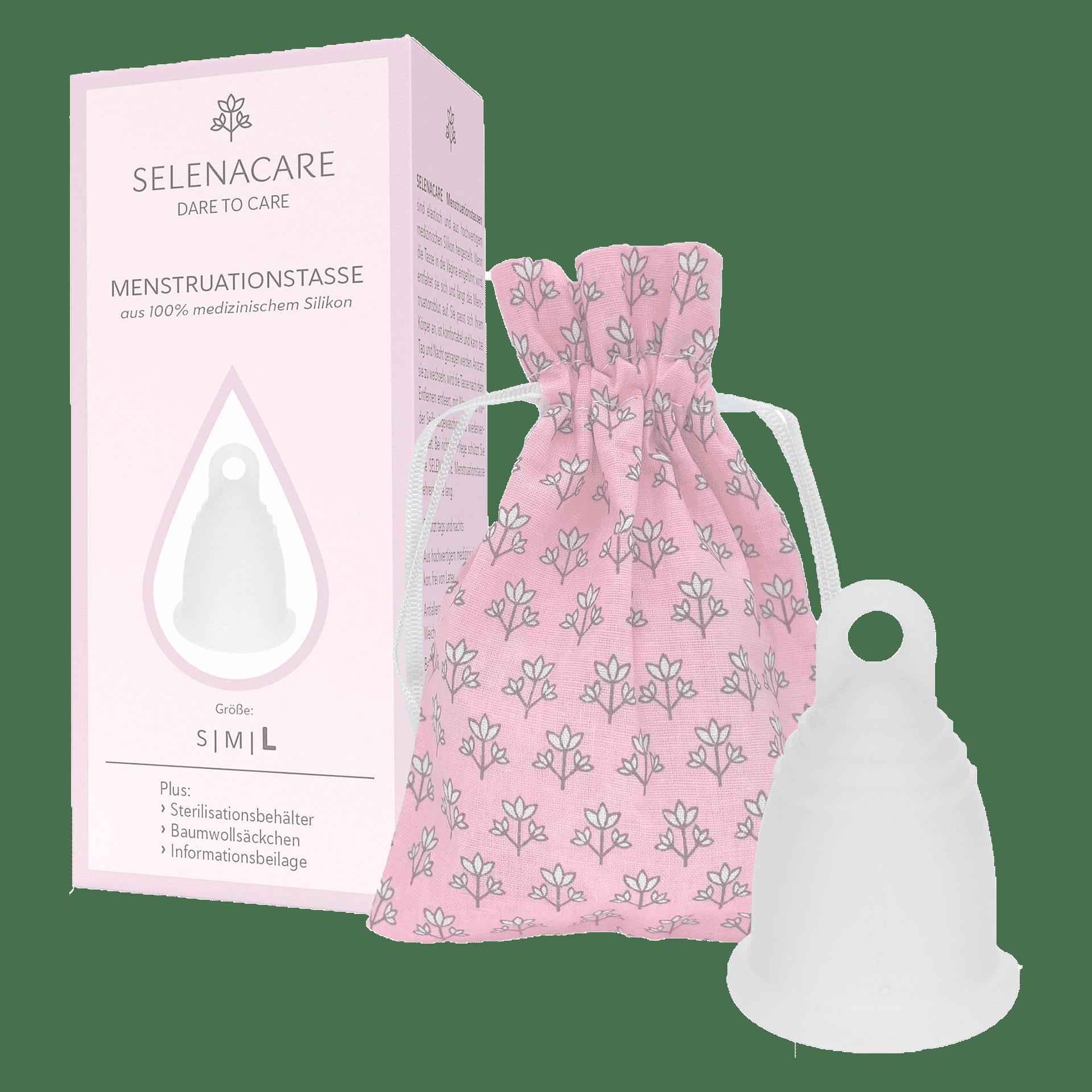 Менструальна чаша Selenacare Premium. Розмір L