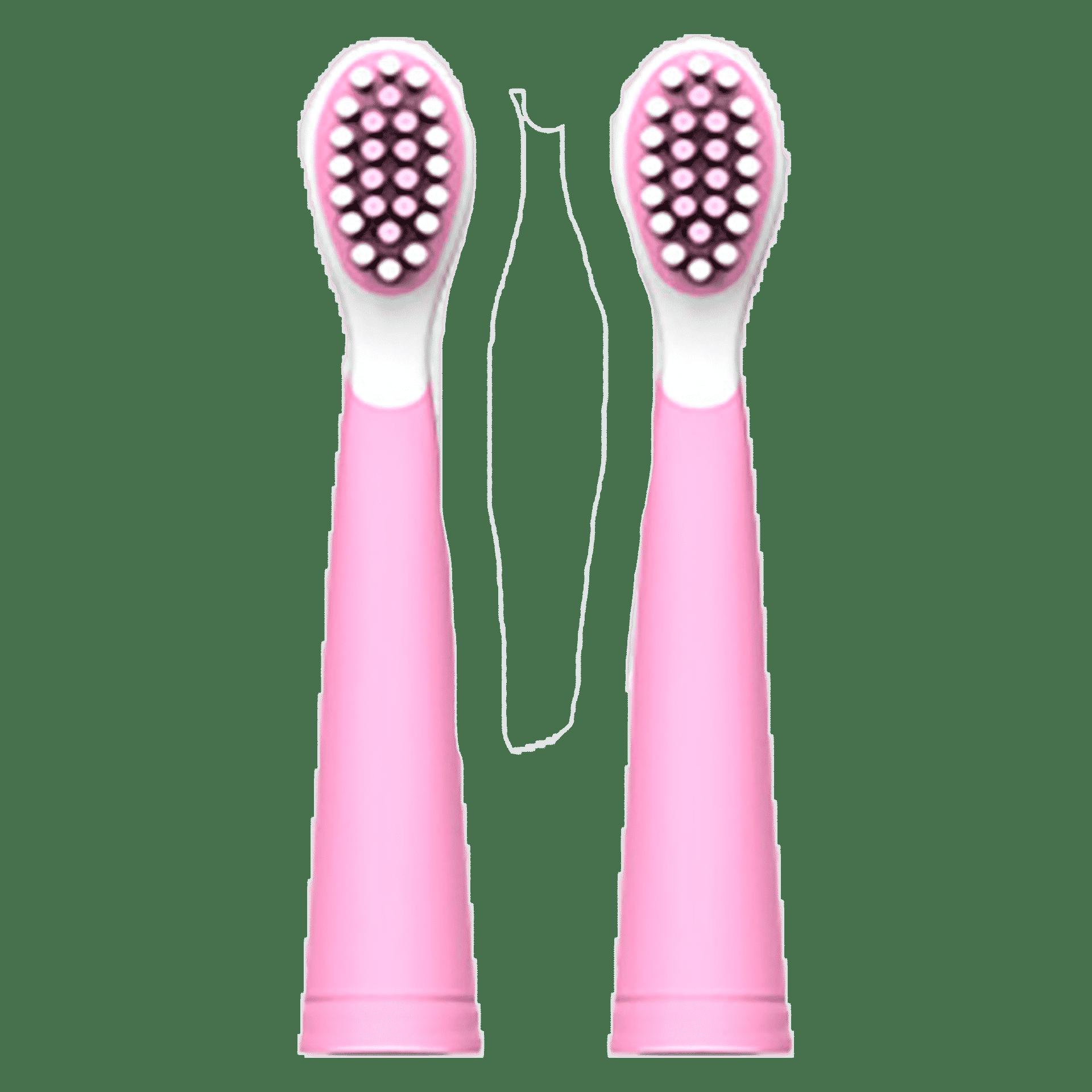 Насадки Vega Kids VK-11P Junior до дитячої звукової зубної щітки VK-500P (рожеві) от 6-12 років